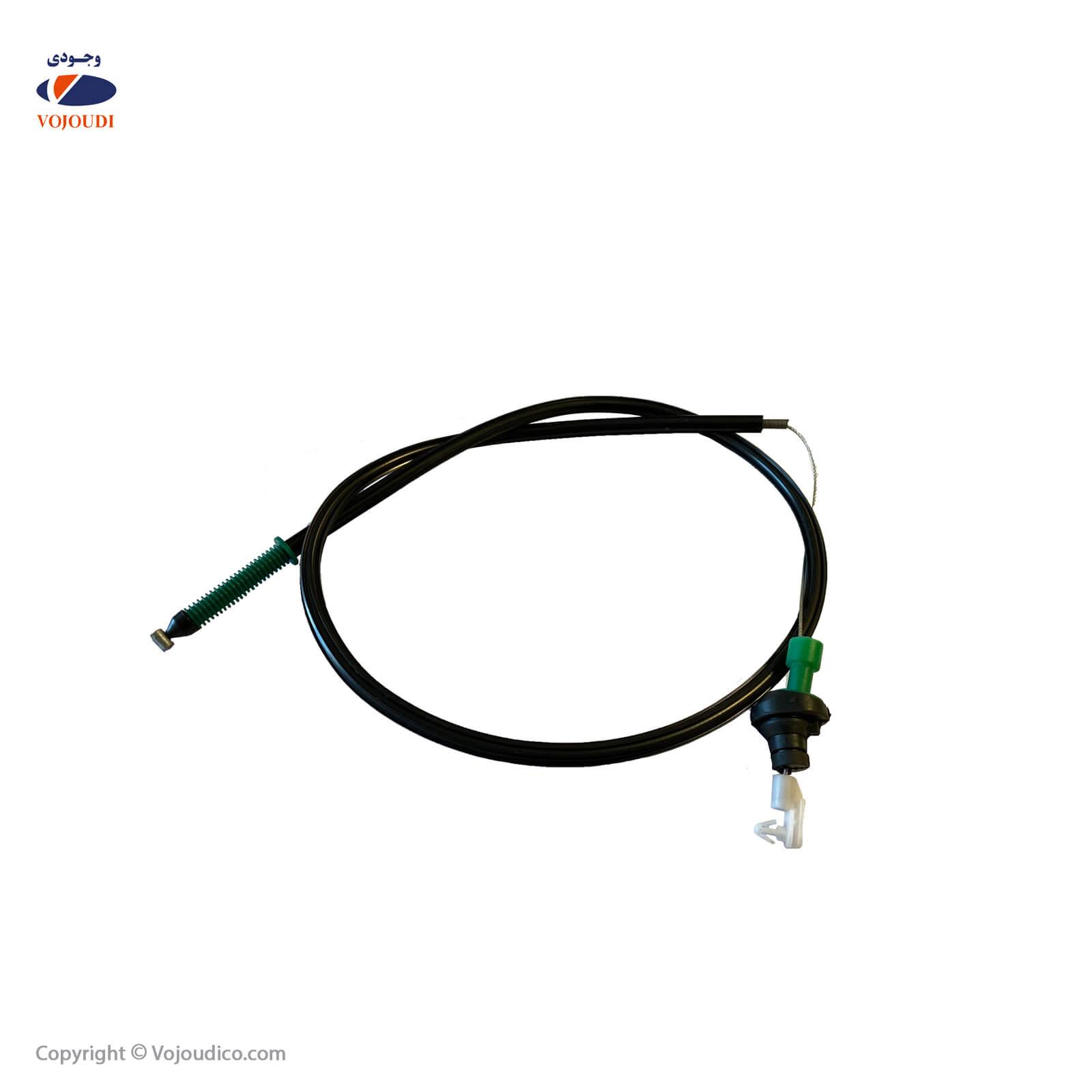 31110 1 - کابل گاز کاربراتوری وجودی کد 31110 ، تعداد در بسته : 20 عدد