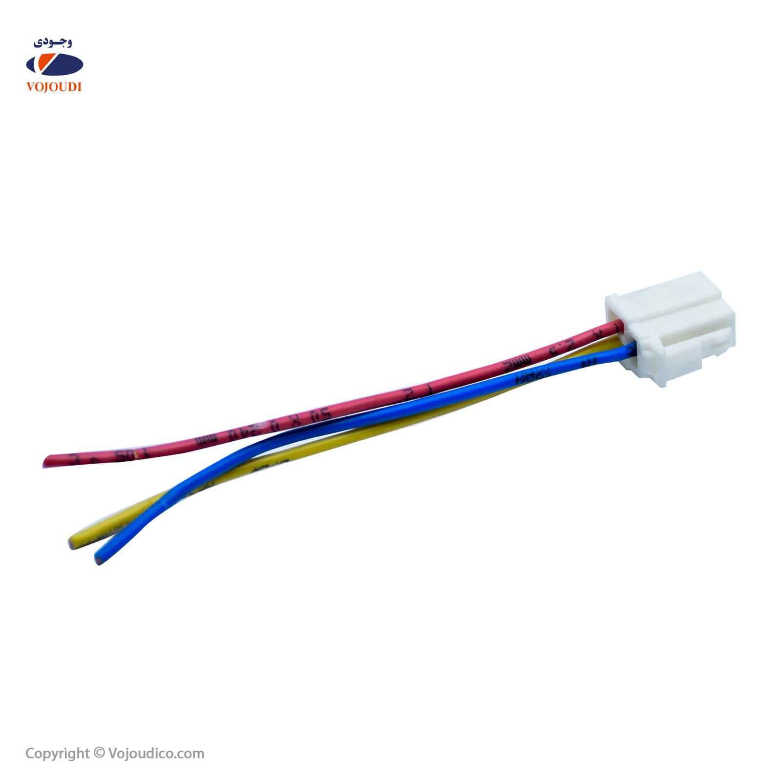 36366 1 - سوکت مادگی موتور فن دو دور وجودی کد 36366 ، تعداد در بسته : 20 عدد