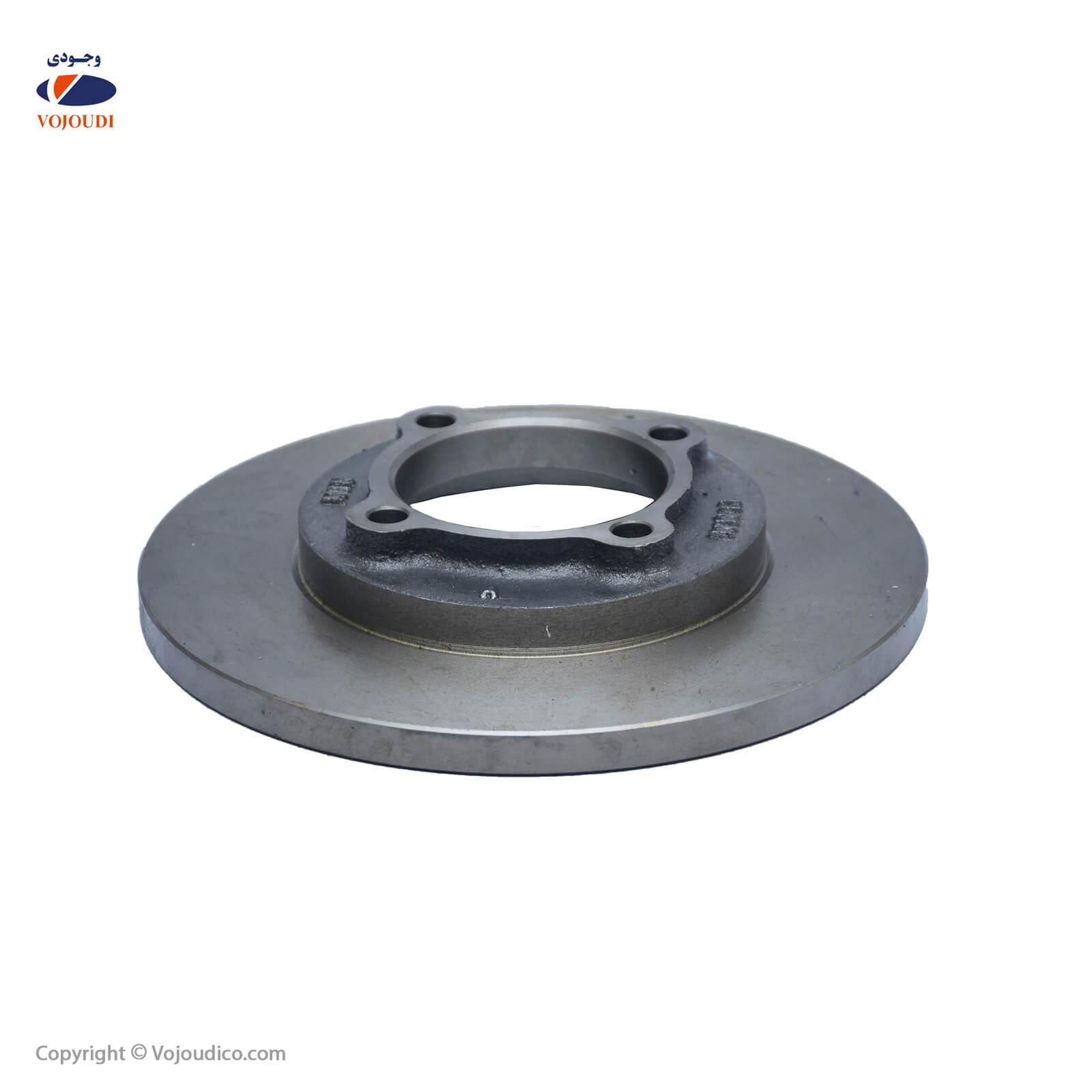 3689 1 - دیسک ترمز یا چرخ وجودی کد 3689 مناسب برای پراید ، تعداد بسته : 6 عدد