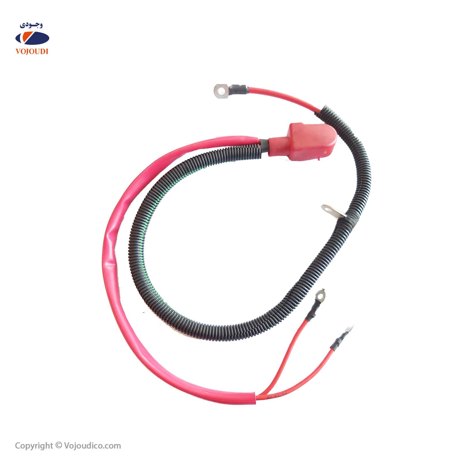 31425 - سوکت کابل مثبت باطری وجودی کد 31425 مناسب برای 206 -405- پرشیا- سمند- پراید ، تعداد در بسته : 6 عدد